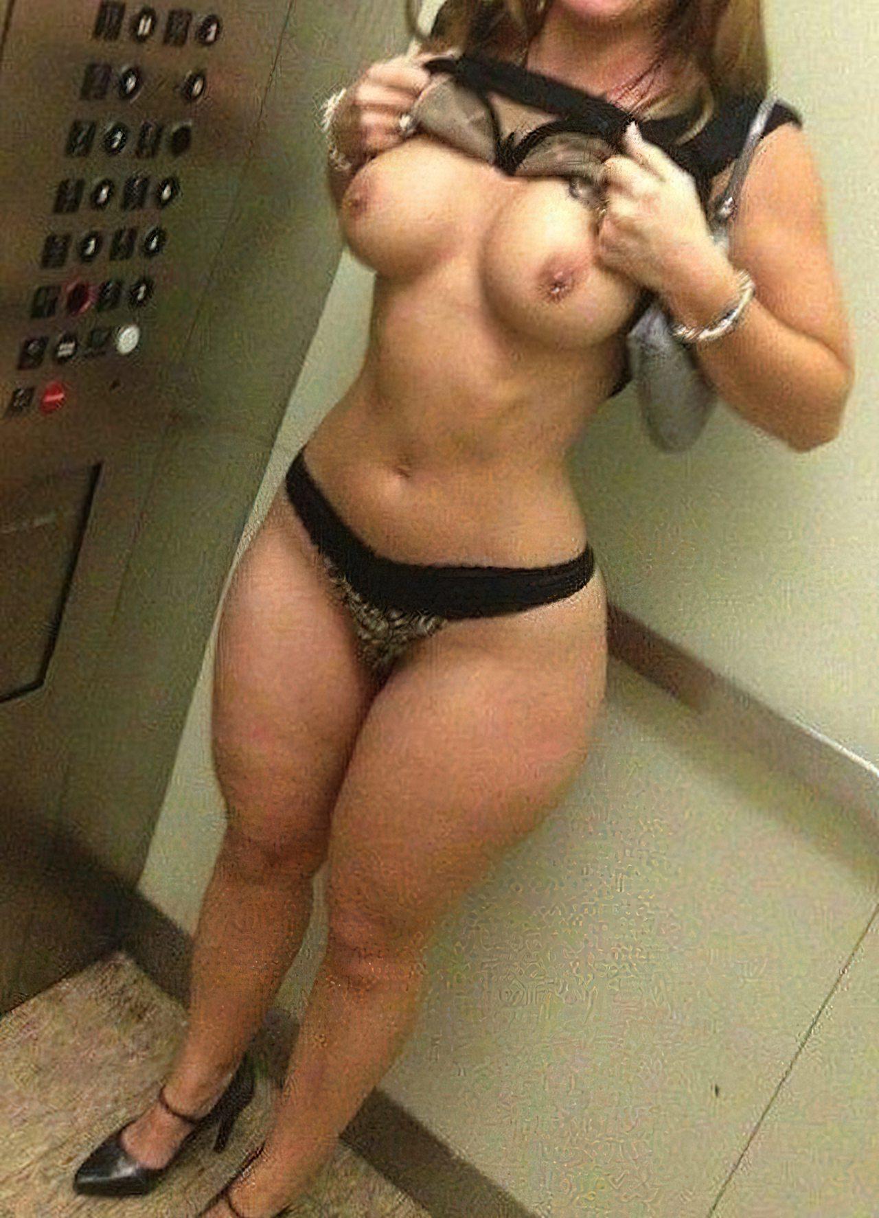 Mulher no Elevador