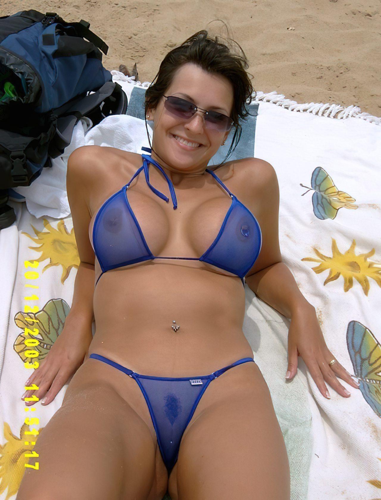Casada Bikini Transparente