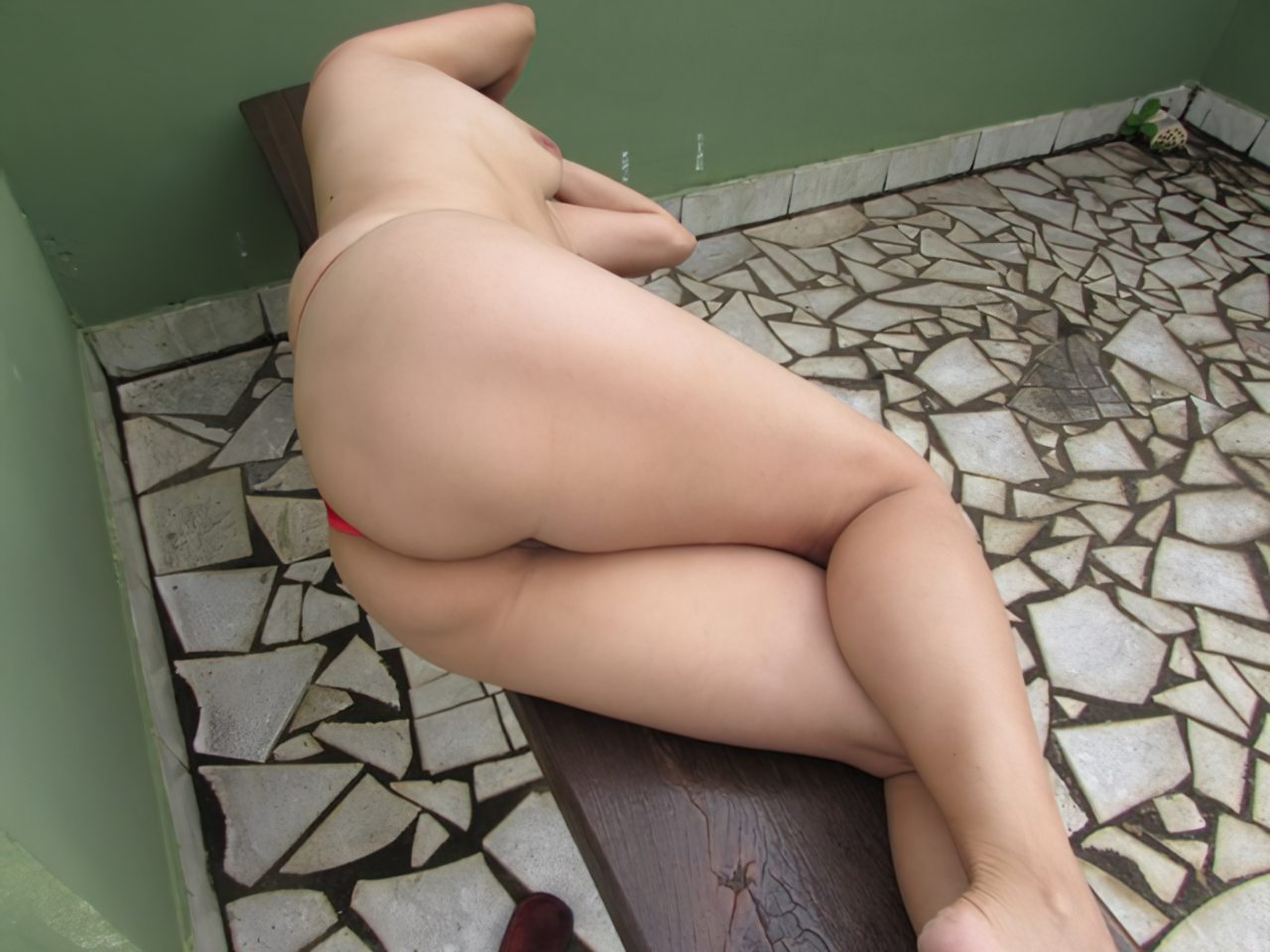 Calcinha Entre a Buceta (11)