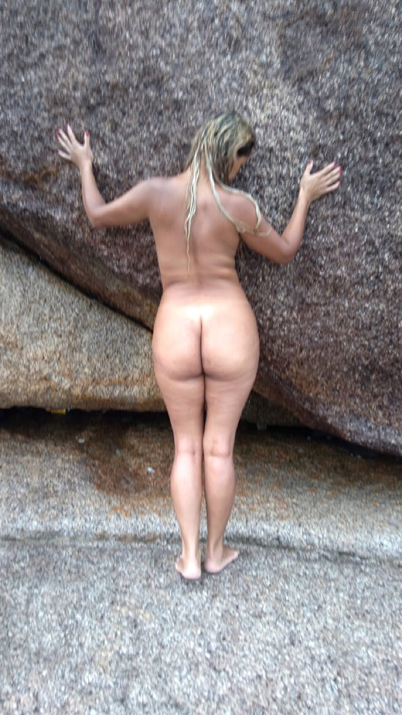 Esposa Praia Nudismo (6)