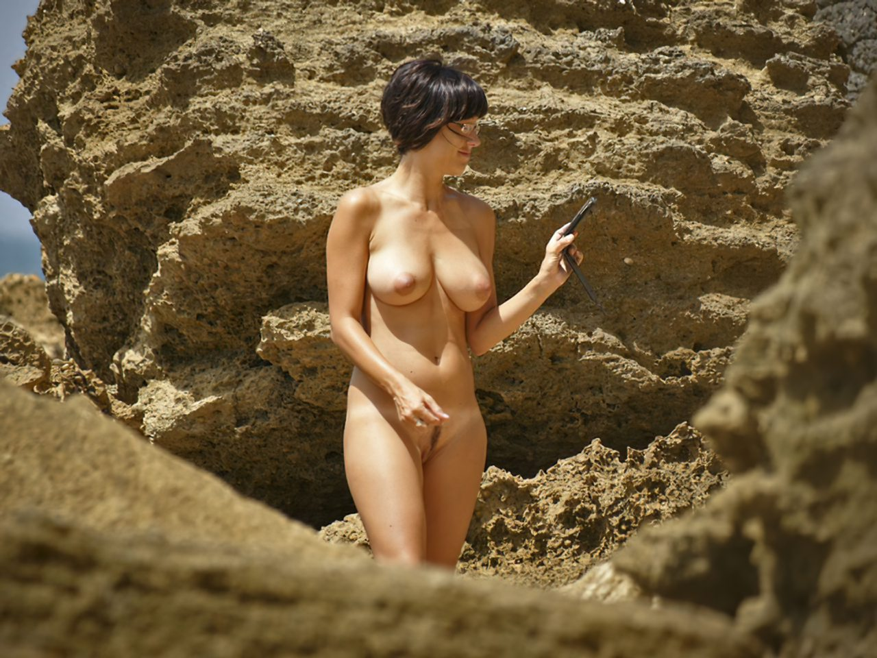 Mulher Pelada Praia Nudista (3)