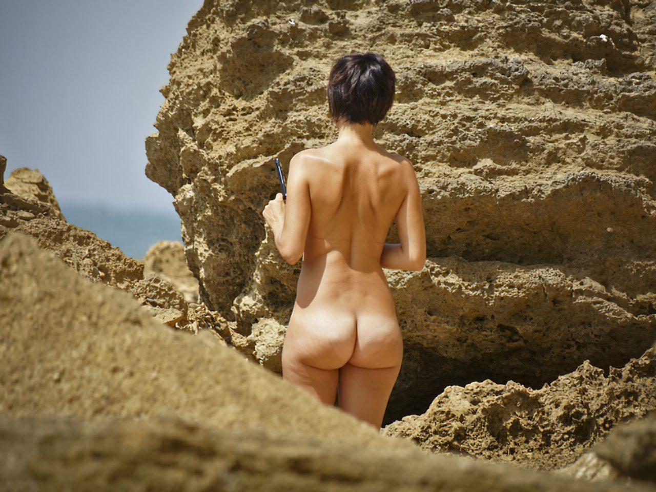 Mulher Pelada Praia Nudista (4)