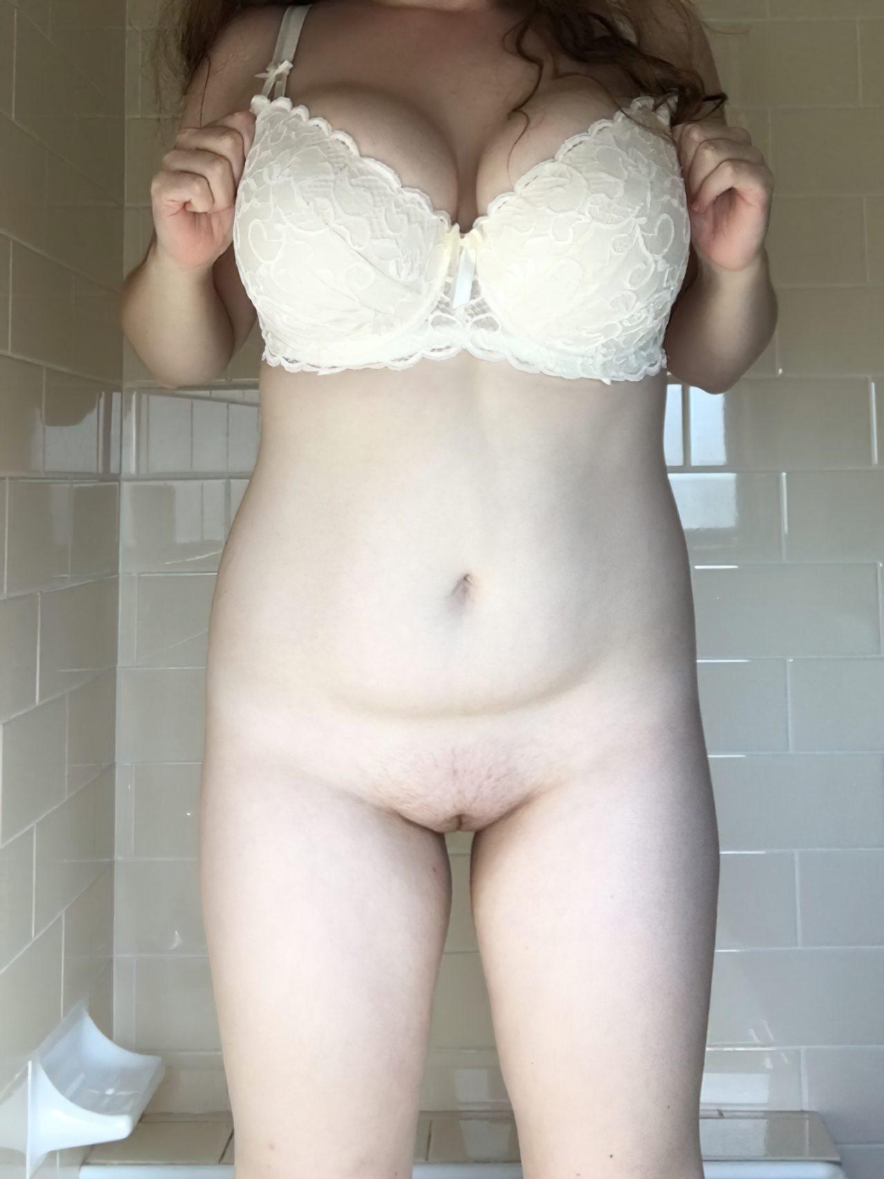Amadora Sexy Experimentando Lingerie (10)